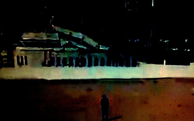 Ola-Dele Kuku - 'Suspended Animation' (2012) One sided light box - canvas on aluminium frame. (Variable dimensions) courtesy ola-dele kuku projects
