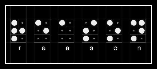 Ola-Dele Kuku, 'Light source' – Reason (one sided light box – variable dimensions) © 2016 courtesy ola-dele kuku projects